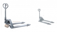Stainless Steel and Galvanized Pallet Truck